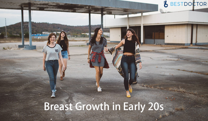 Causes of Breast Growth in 20s in Women
