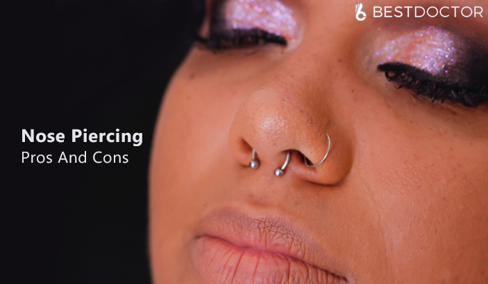 What Are The Pros And Cons Of Nose Piercing?