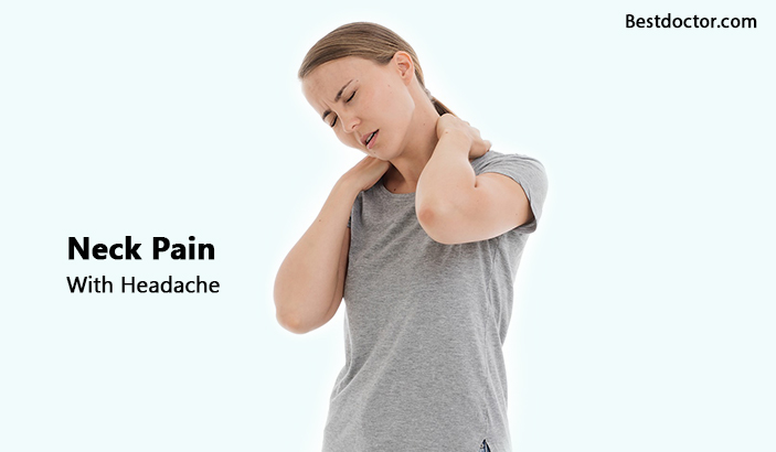 Neck pain with headache